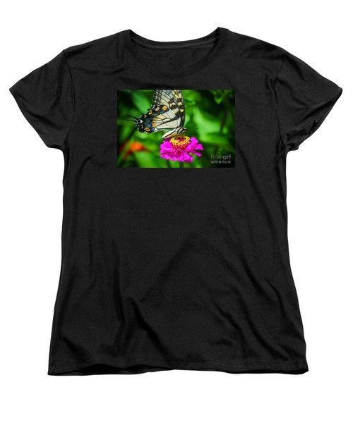 Anise  Swallowtail Butterfly Women's T-Shirt (Standard Cut)