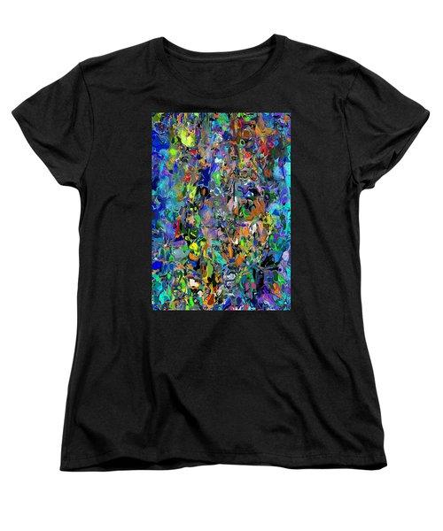 Women's T-Shirt (Standard Cut) featuring the digital art Anthyropolitic 1 by David Lane