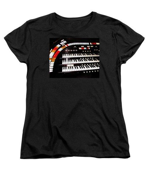 Women's T-Shirt (Standard Cut) featuring the photograph Antique Organ by Marcia Socolik
