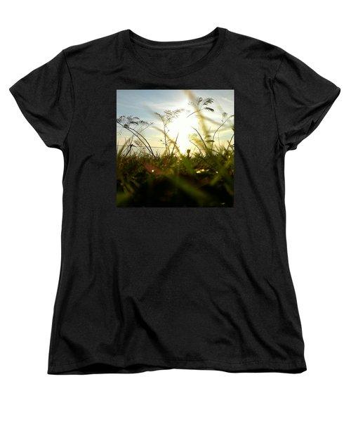Ant's Eye View Women's T-Shirt (Standard Cut) by Thomasina Durkay