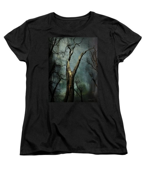 Women's T-Shirt (Standard Cut) featuring the photograph Appeal To The Sky by Cynthia Lassiter
