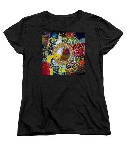Arabesque 20 Women's T-Shirt (Standard Cut) by Shah Nawaz