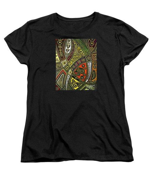 Arabian Nights Women's T-Shirt (Standard Cut) by Jolanta Anna Karolska