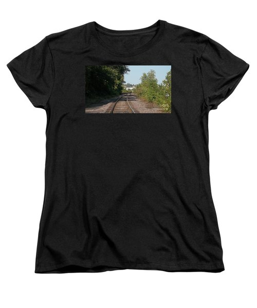 Arch In The Distance Women's T-Shirt (Standard Cut) by Kelly Awad
