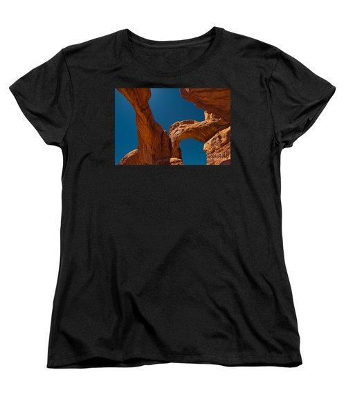 Arches Np Women's T-Shirt (Standard Cut) by Juergen Klust
