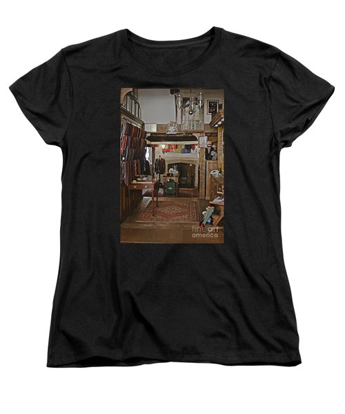 Women's T-Shirt (Standard Cut) featuring the photograph Are You Being Served ? by Terri Waters