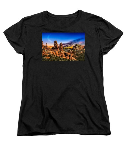 Arizona Life Women's T-Shirt (Standard Cut) by Fred Larson
