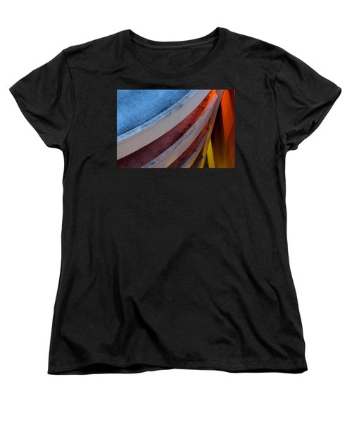Around And Down Women's T-Shirt (Standard Cut) by Greg Allore
