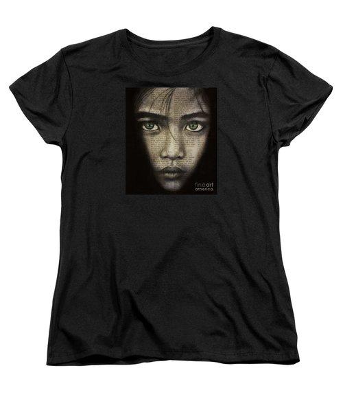Art In The News 45 Women's T-Shirt (Standard Cut) by Michael Cross