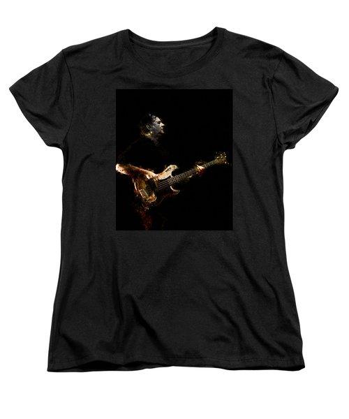 Women's T-Shirt (Standard Cut) featuring the photograph Art Of Bass by John Rivera
