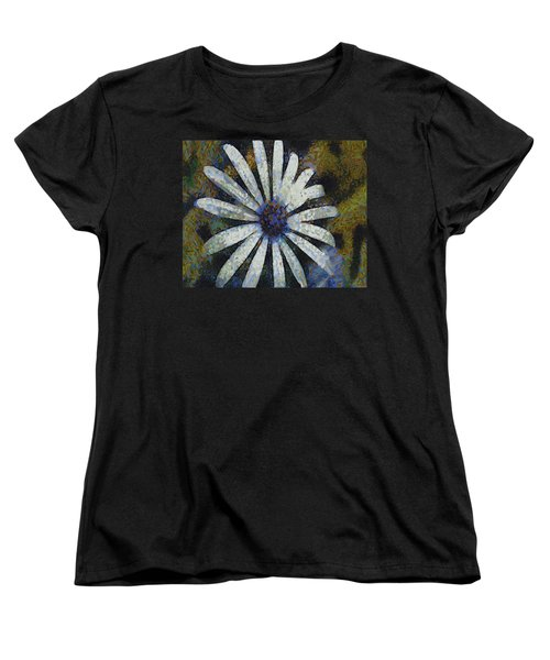 Women's T-Shirt (Standard Cut) featuring the painting As It Happened by Joe Misrasi