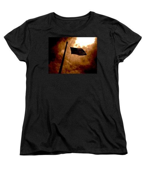 Ascend From Darkness Women's T-Shirt (Standard Cut) by Paulo Guimaraes