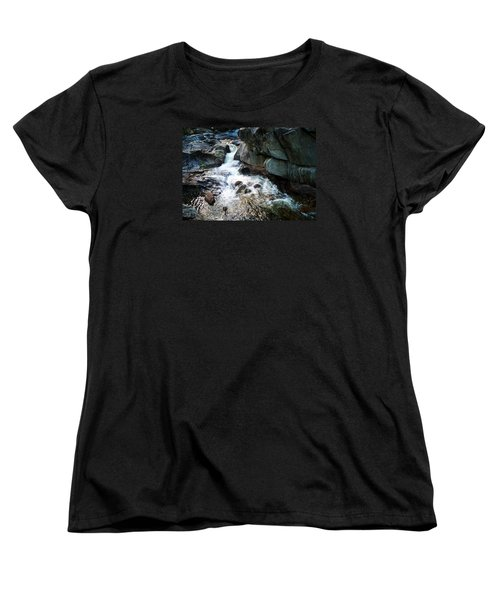 Women's T-Shirt (Standard Cut) featuring the photograph At Coos Canyon by Joy Nichols