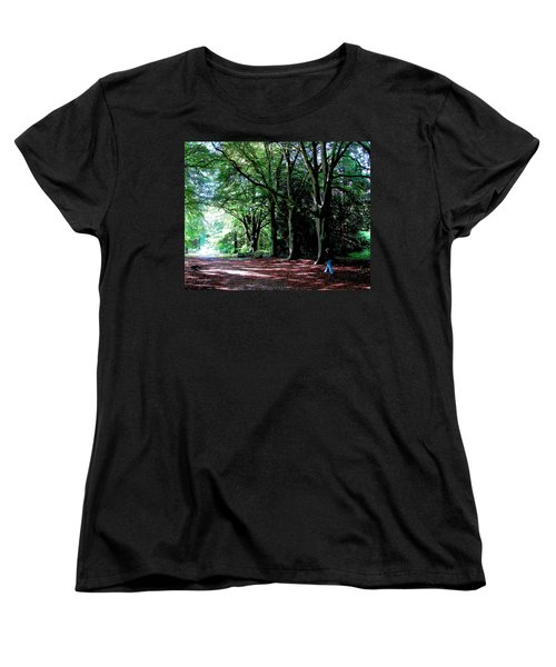 Women's T-Shirt (Standard Cut) featuring the photograph At Peace With Nature by Charlie Brock