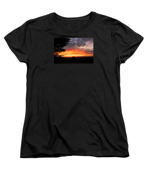 Women's T-Shirt (Standard Cut) featuring the photograph At The End Of The Day ... by Juergen Weiss