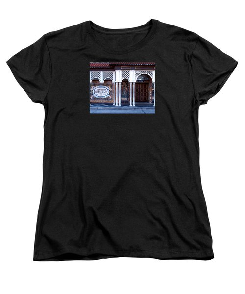 At The Entrance Women's T-Shirt (Standard Cut) by Judy Wanamaker