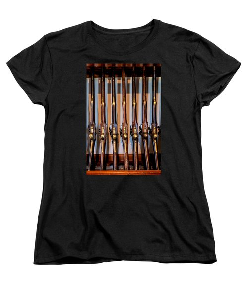 At The Ready Women's T-Shirt (Standard Cut) by Christopher Holmes