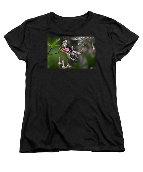 Women's T-Shirt (Standard Cut) featuring the photograph At Work by Tara Potts