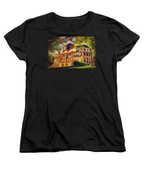 Athenaeum Hotel - Chautauqua Institute Women's T-Shirt (Standard Cut) by Lianne Schneider