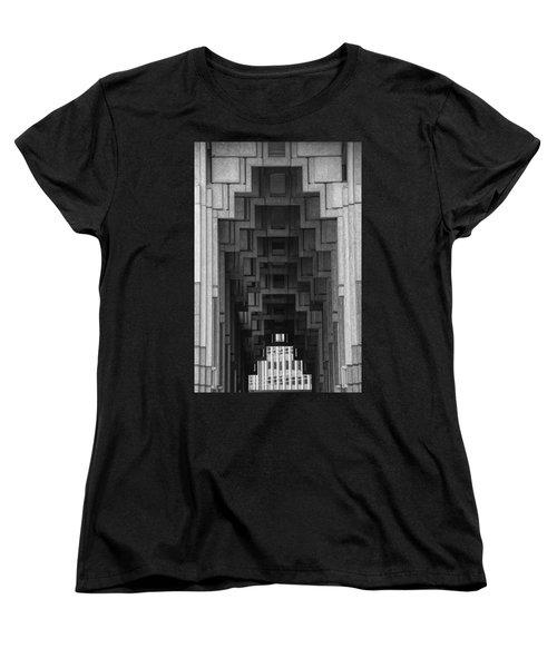 Atlanta Ga Architecture-city Building Women's T-Shirt (Standard Cut) by Douglas Barnard