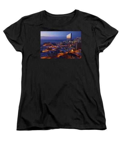 Atlantic City At Dawn Women's T-Shirt (Standard Cut)