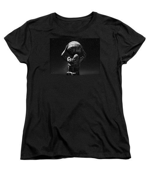Atlas Women's T-Shirt (Standard Cut) by Beverly Cash
