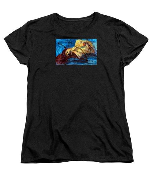 Auburn In Repsoe Women's T-Shirt (Standard Cut) by Michael Cross
