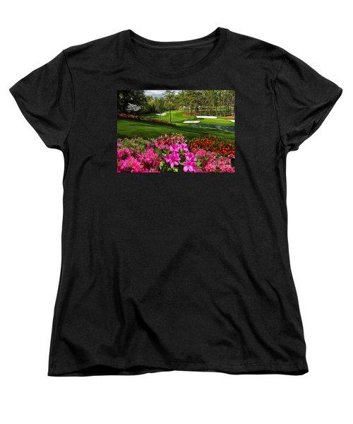 Augusta Azaleas 16th And 6th Women's T-Shirt (Standard Cut) by Tim Gilliland