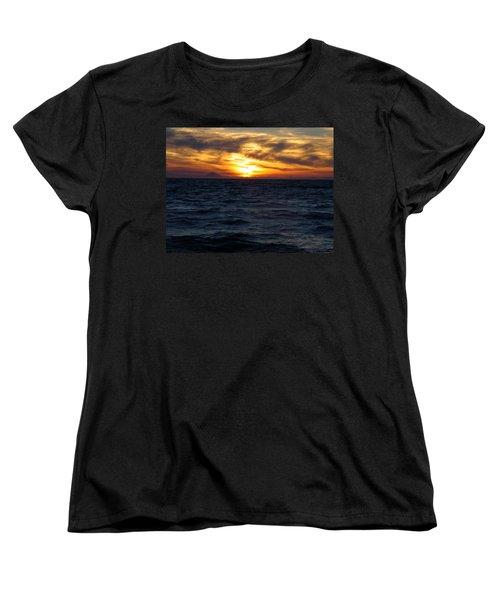Women's T-Shirt (Standard Cut) featuring the photograph Augustine Sleeps by Jeremy Rhoades