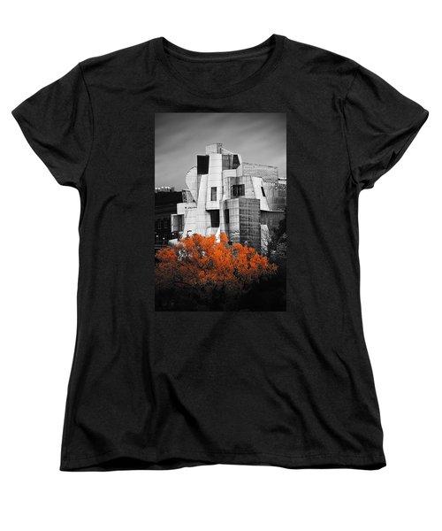 autumn at the Weisman Women's T-Shirt (Standard Cut) by Matthew Blum