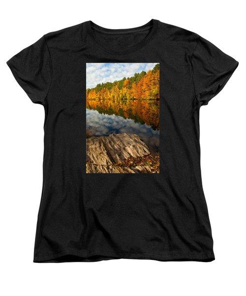 Autumn Day Women's T-Shirt (Standard Cut) by Karol Livote