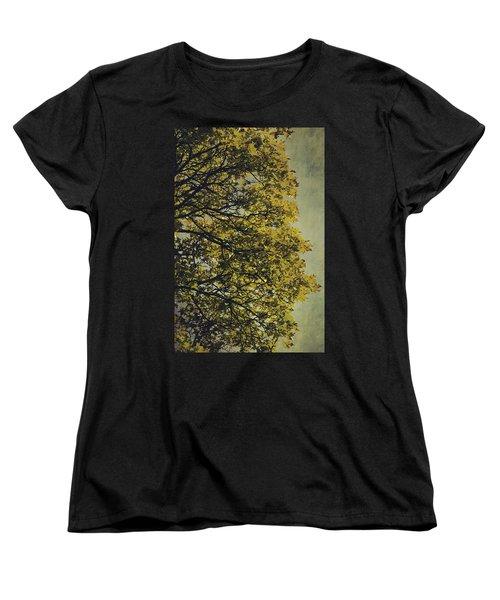 Women's T-Shirt (Standard Cut) featuring the photograph Autumn Glory by Ari Salmela