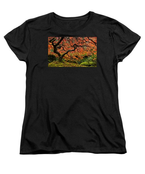Autumn Magnificence Women's T-Shirt (Standard Cut)