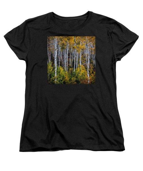 Women's T-Shirt (Standard Cut) featuring the photograph Autumn On Mcclure Pass by Ken Smith