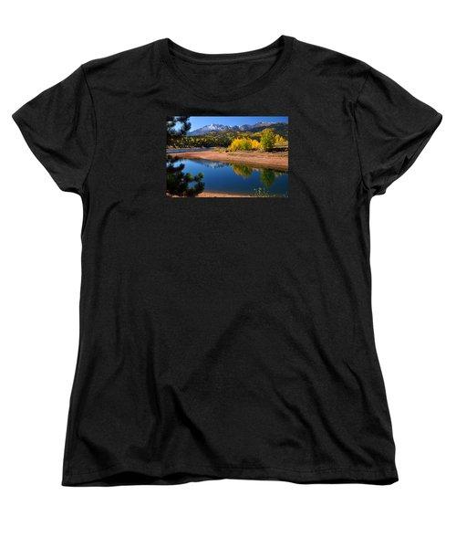 Autumn Reflections At Crystal Women's T-Shirt (Standard Cut) by John Hoffman