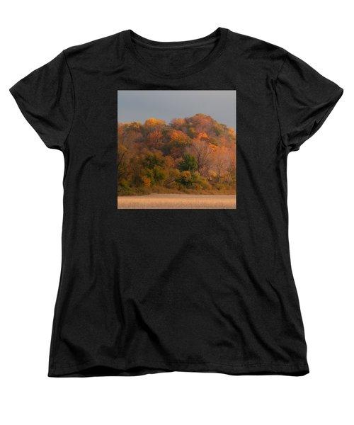 Autumn Splendor Women's T-Shirt (Standard Cut) by Don Spenner