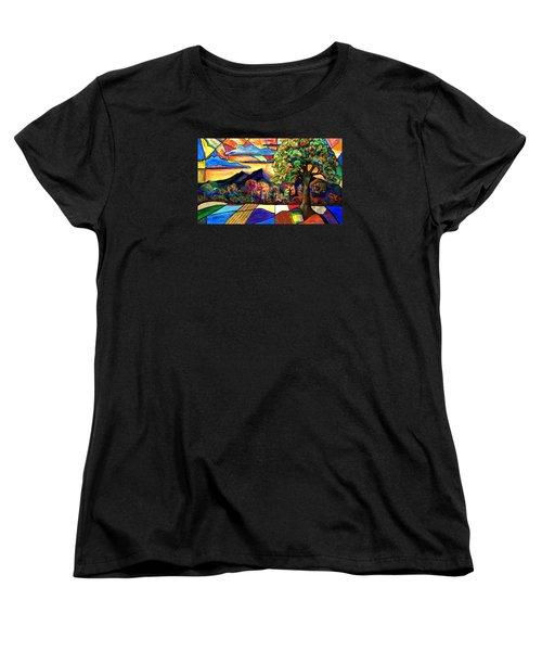 Autumn Sunrise Women's T-Shirt (Standard Cut)