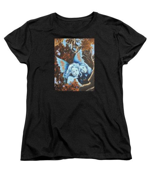 Autumn Turning. Women's T-Shirt (Standard Cut) by Vivien Rhyan