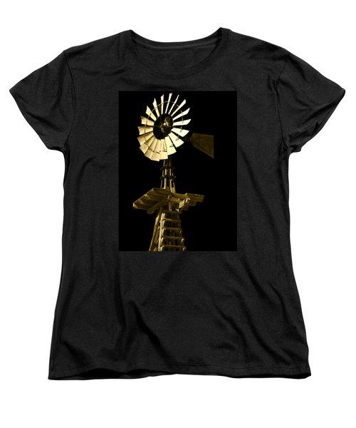 Awesome Aermotor Women's T-Shirt (Standard Cut) by Anne Mott