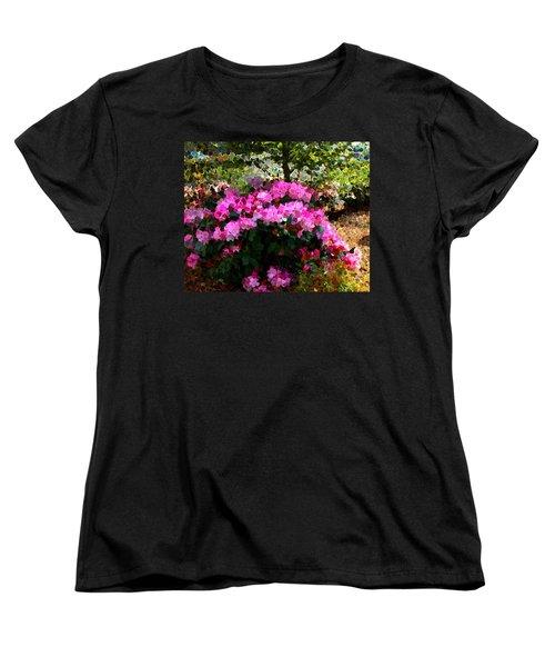 Azalea Women's T-Shirt (Standard Cut) by Terence Morrissey