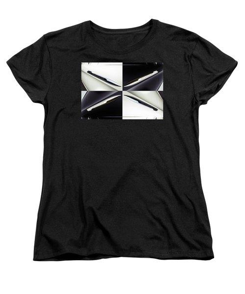 B And W Chevy Women's T-Shirt (Standard Cut)