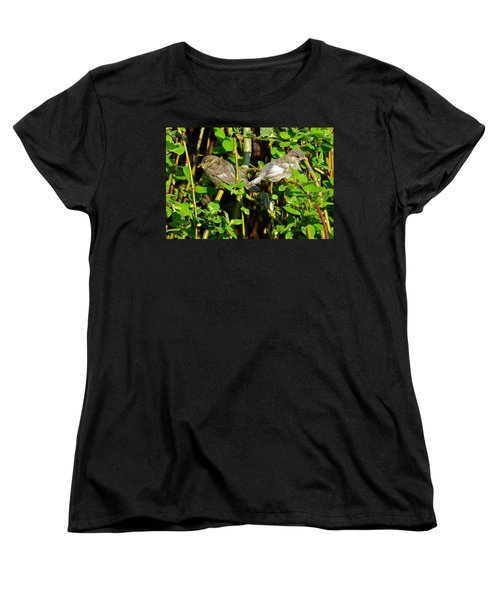 Babies Afraid To Fly Women's T-Shirt (Standard Cut) by Frozen in Time Fine Art Photography