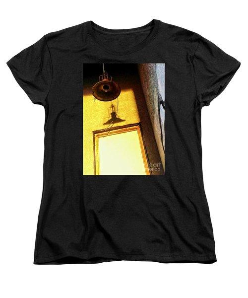 Women's T-Shirt (Standard Cut) featuring the photograph Back Of House by James Aiken