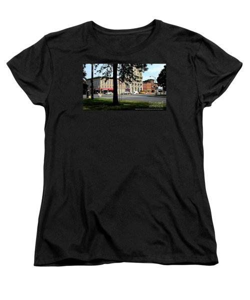 Bagg's Square West Women's T-Shirt (Standard Cut) by Peter Gumaer Ogden