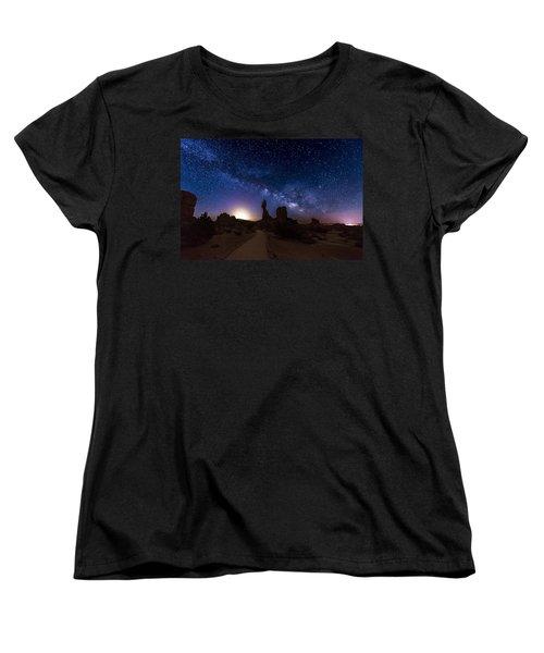 Balance Women's T-Shirt (Standard Cut) by Dustin  LeFevre