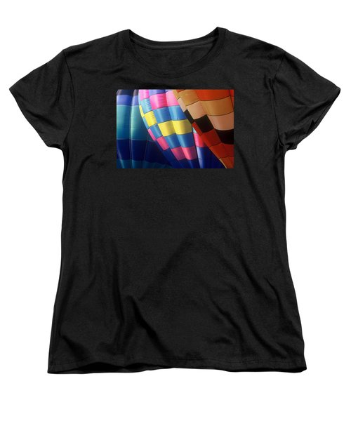 Women's T-Shirt (Standard Cut) featuring the photograph Balloon Patterns by Rodney Lee Williams