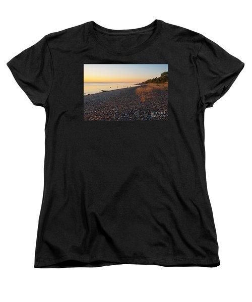 Women's T-Shirt (Standard Cut) featuring the photograph Baltic Sea Coast by Kennerth and Birgitta Kullman