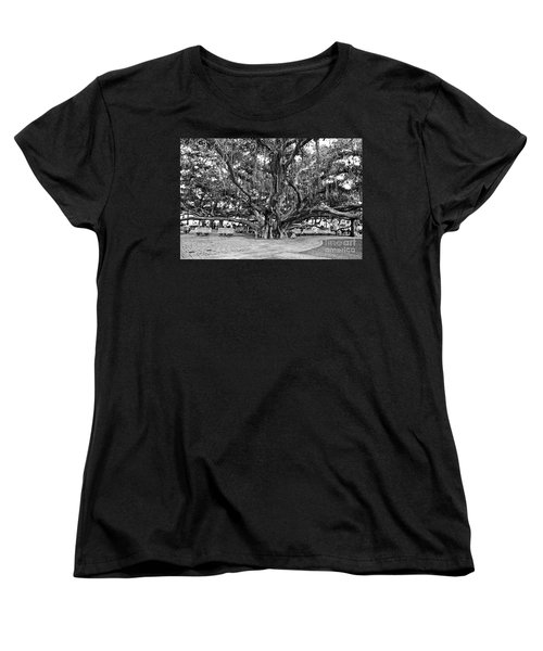 Banyan Tree Women's T-Shirt (Standard Cut) by Scott Pellegrin