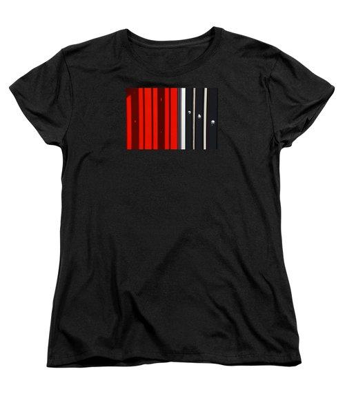 Bar Code Women's T-Shirt (Standard Cut) by Wendy Wilton