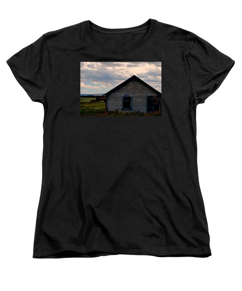 Barn And Tractor Women's T-Shirt (Standard Cut) by Matt Harang